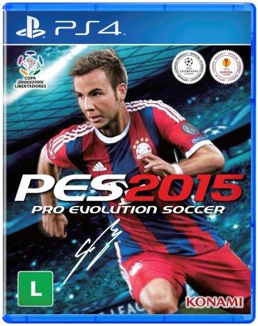 Jogo PES 2015 - PlayStation 4 - PS4