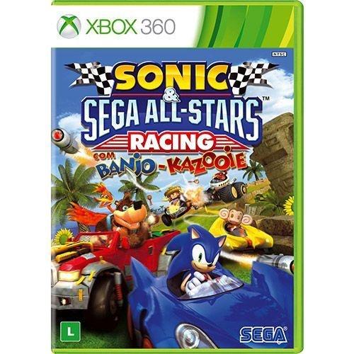 Jogo Sonic & Sega All-Stars Racing With Banjo-Kazooie - Xbox 360