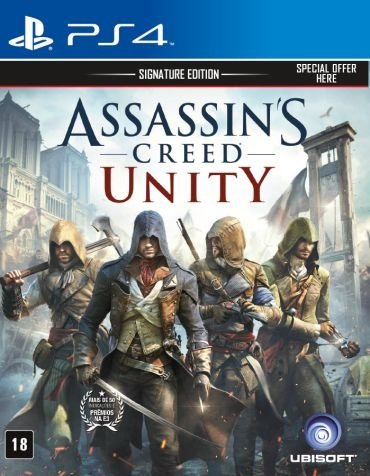 Jogo Assassin's Creed Unity - Ps4 - PlayStation 4