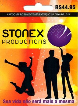 Cartão Pré Pago - Stonex Productions