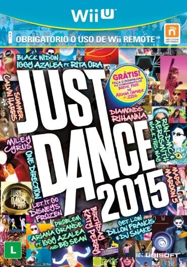 Jogo Just Dance 2015 - Nintendo Wii U