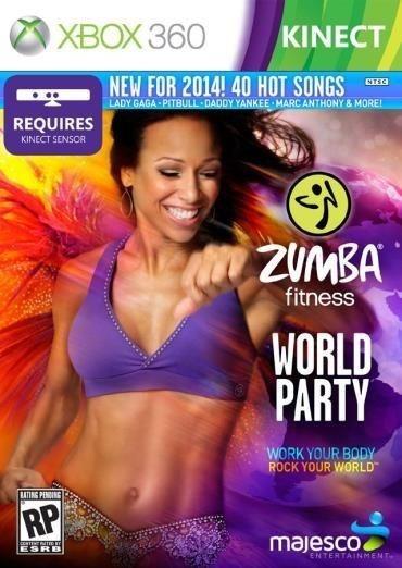 Jogo Zumba Fitness - World Party - Xbox 360