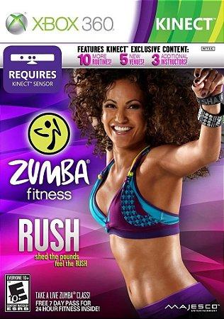 Jogo Zumba Fitness Rush (Kinect) - XBOX 360