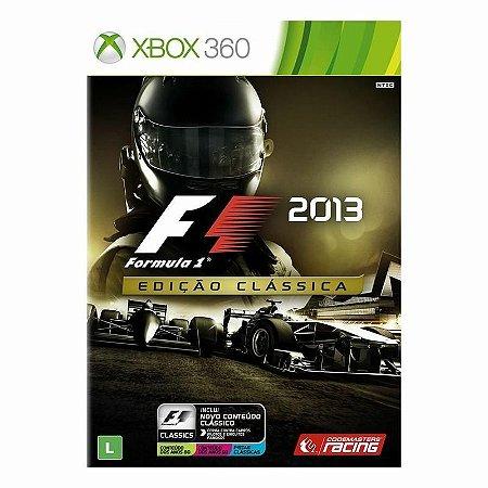 Jogo Xbox 360 Formula 1 2013 - Edição Clássica - VR Gamers - Sua ... d8b6d89342b