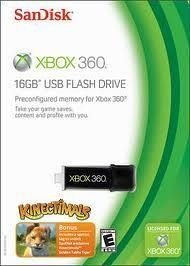 Pendrive Flash Xbox 360 Sandisk 16gb Cruzer Mini Hd Xbox360