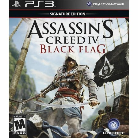 Jogo Assassins Creed IV: Black Flag PS3 - Playstation 3