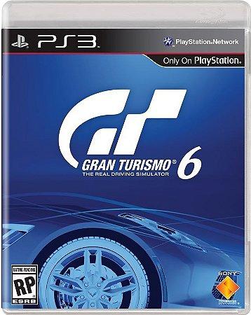 Jogo Gran Turismo 6 GT6 - Playstation 3 - PS3