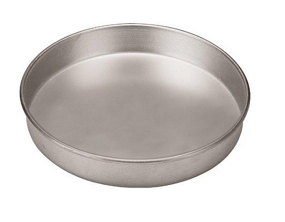 Forma de Alumínio para Torta Ø 25 x 5 cm