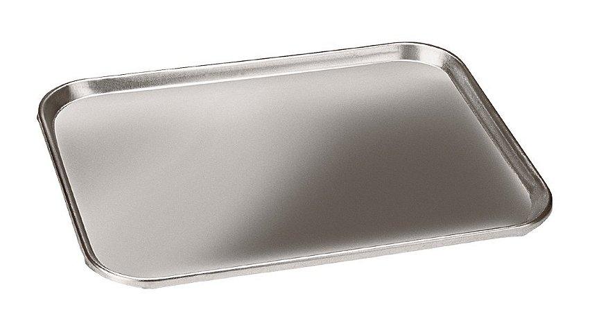 Bandeja de Alumínio Retangular 37 x 27 x 1,5 cm