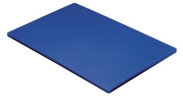 Tábua Para Corte Polietileno Azul sem Canaleta 50 x 30 x 1 cm | Engreflon