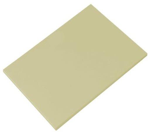 Tábua Para Corte Polietileno Bege sem Canaleta 50 x 30 x 1 cm | Engreflon