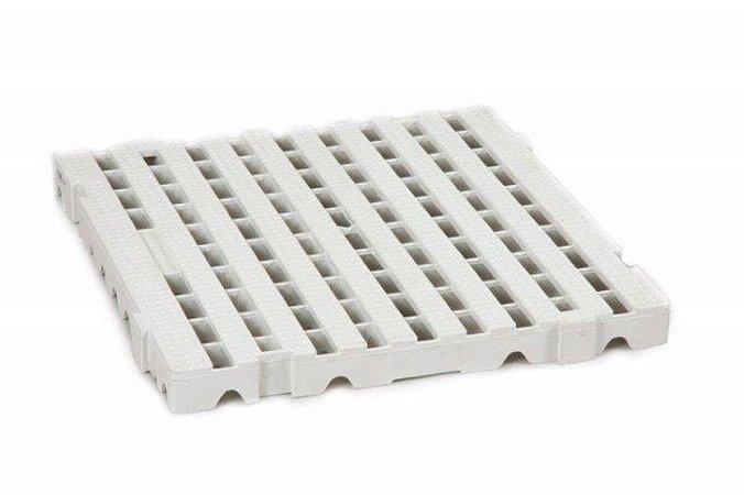 Estrado Plástcio Branco 50 x 50 cm