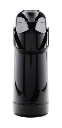 Garrafa Magic Pump Preta Lisa 1 Litro
