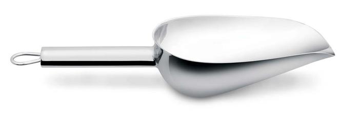 Pá para Gelo e Cereais Aço Inox 25,5 cm | Hércules