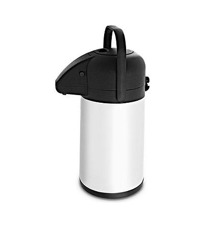 Garrafa Térmica Inox com Ampola Inox Pressão - 1,9 Litros | Hércules