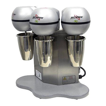 Batedor de Milk Shake Copo Inox 3 Hastes | Skymsen