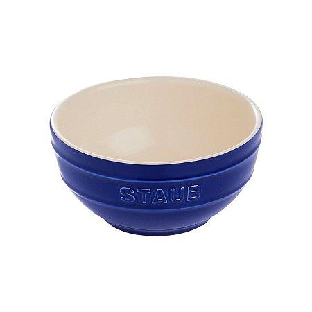 Bowl Cerâmica Esmaltada Azul Marinho 12 cm 0,4 L   Staub