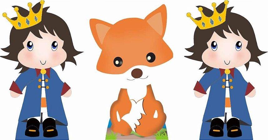 Kit 3 Totem O Pequeno Principe Moreno Decoração Aniversário