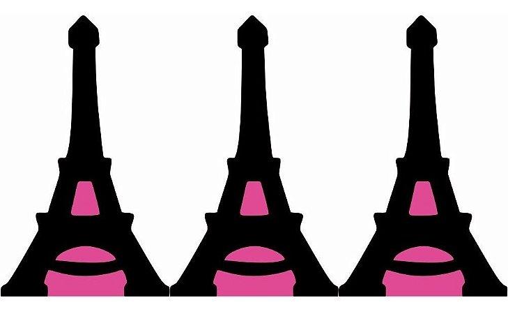 Kit 3 Display De Mesa Paris Torre Eiffel Totem Decoração