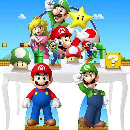 Combo Diamante Super Mario Bros Festa Totem