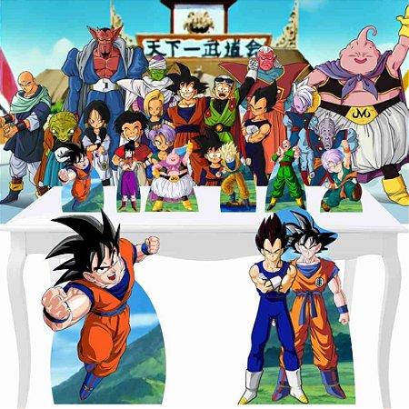 Combo Festa Diamante Painel Totem Dragon Ball