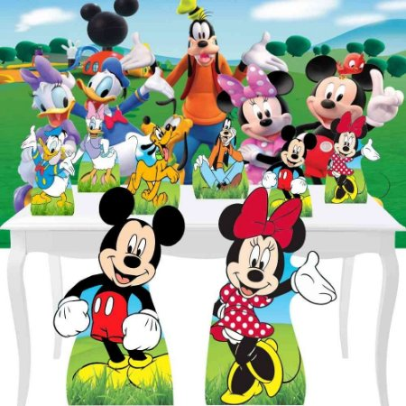 Combo Diamante Turma Do Mickey Festa Totem