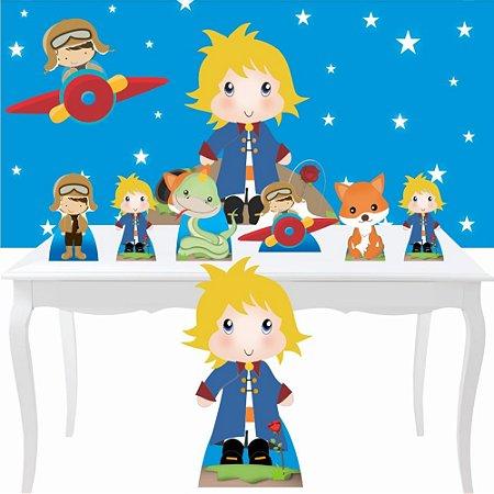 Combo Festa Prata Pequeno Príncipe Loiro Decoração