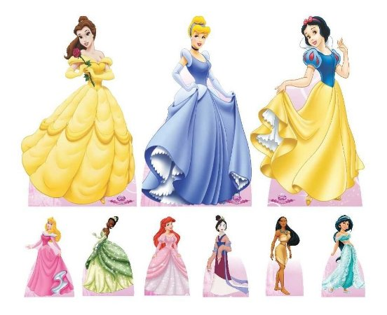 Combo Ouro Princesas Disney