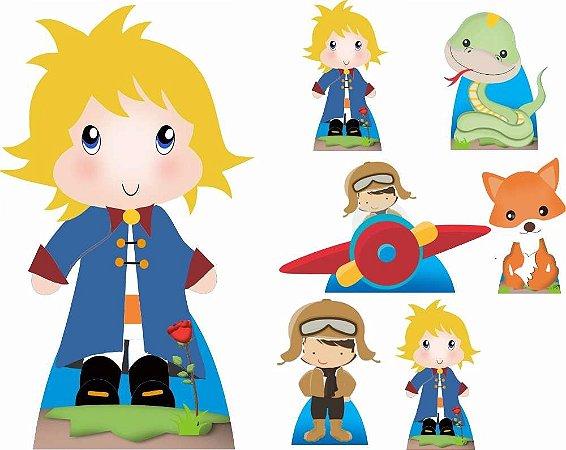 Kit 7 Festa O Pequeno Principe Totem Displays Decoração