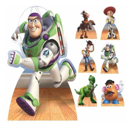 Kit 7 Festa Totem Display Aniversário Toy Story Festa