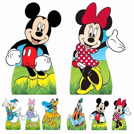 Kit 8 Totem Display Turma Do Mickey Festa Aniversário