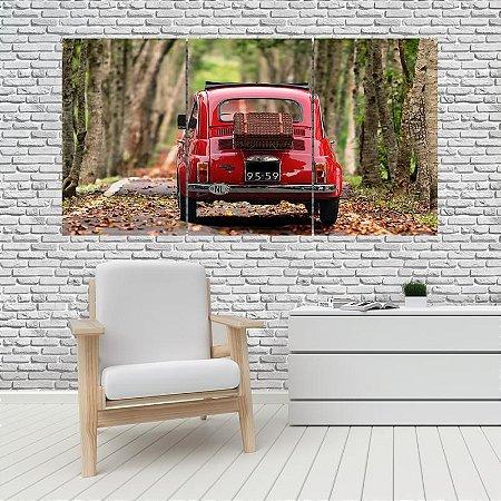 Quadro Mosaico Decoração Carros 121x65 com 3 Peças Mod 01