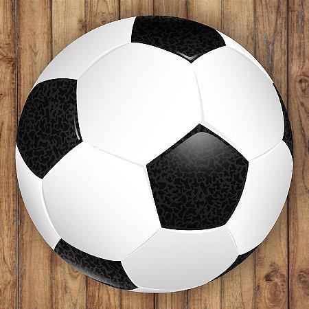 Painel Tecido Redondo Futebol Decoração Festa 01