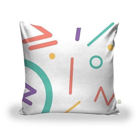 Capa De Almofada Tecido Decorativa Decoração ALA-204