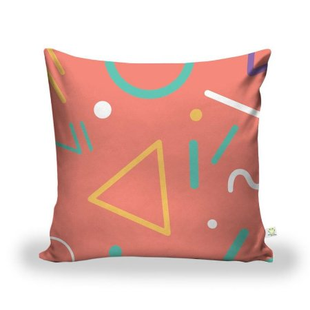 Capa De Almofada Tecido Decorativa Decoração ALA-205