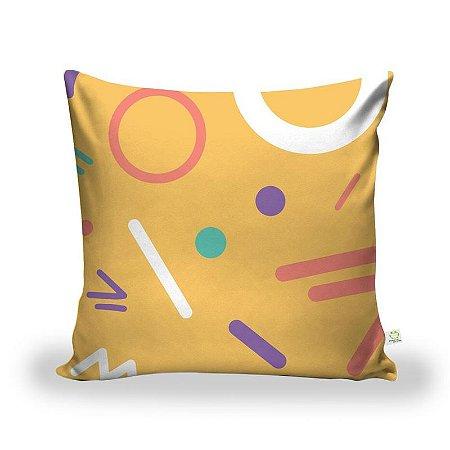 Capa De Almofada Tecido Decorativa Decoração ALA-206