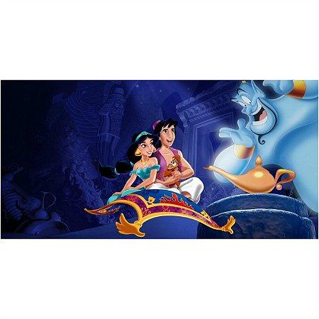 Painel em Lona Aladdin e Jasmine 01