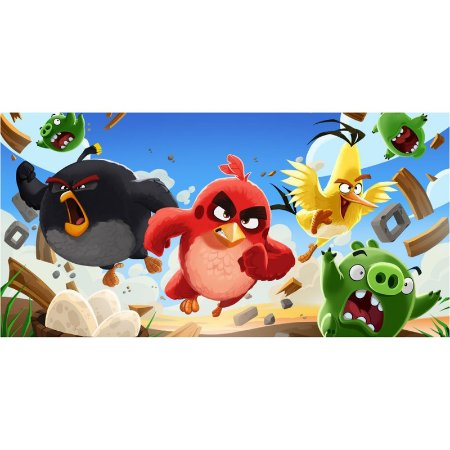 Painel em Lona Angry Birds 03