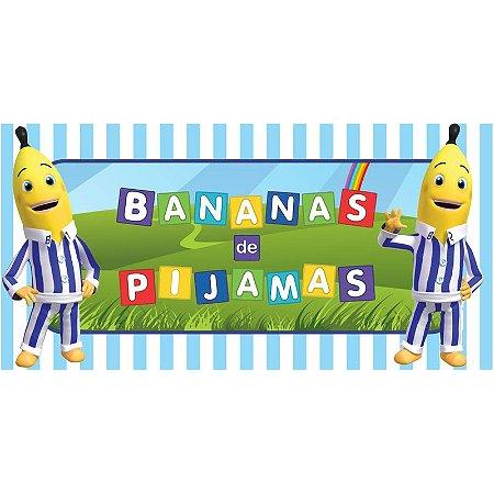 Painel em Lona Bananas de Pijamas 01