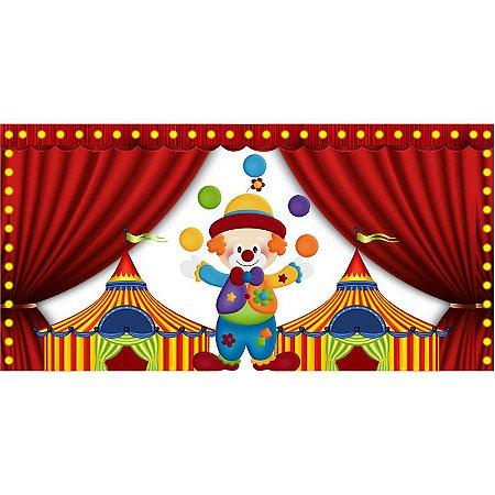 Painel em Lona Circo Painel 01