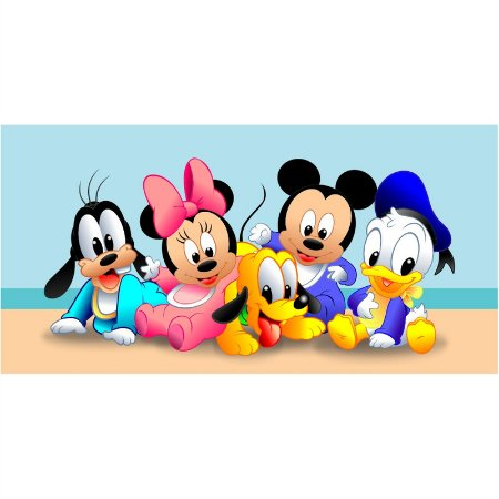 Painel em Lona Disney Baby 01