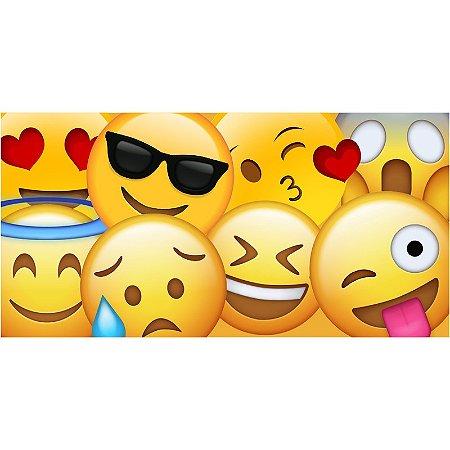 Painel em Lona Emoji 01