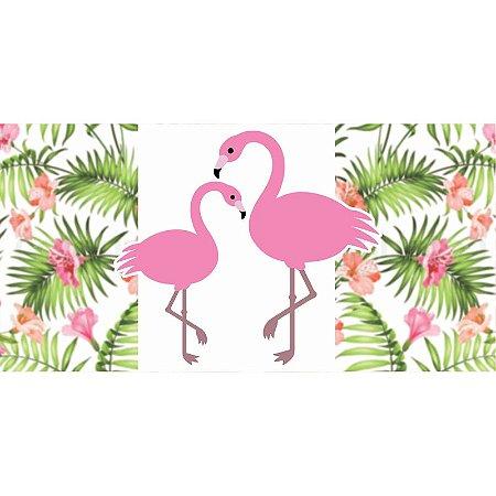 Painel em Lona Flamingo 01