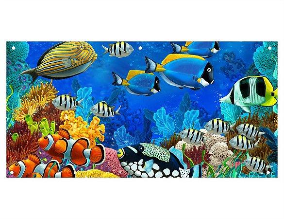 Painel em Lona Fundo do Mar 01