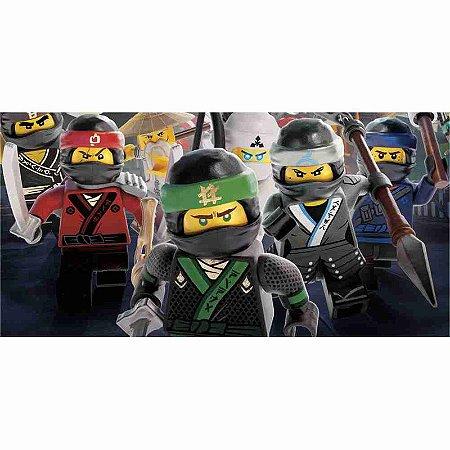 Painel em Lona Lego Ninja 01