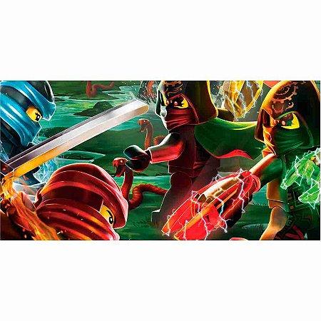 Painel em Lona Lego Ninja 02