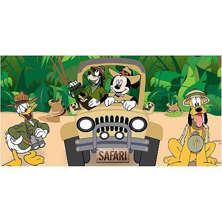 Painel em Lona Mickey Safari 01
