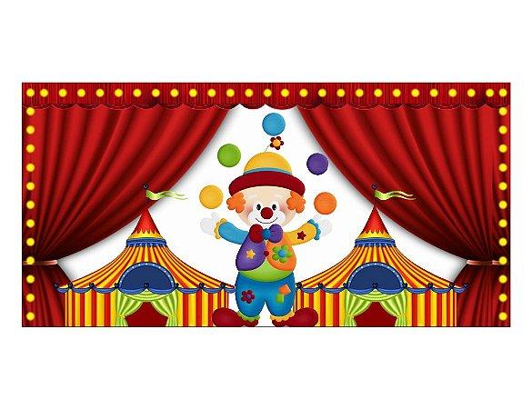 Painel em Lona Circo 01