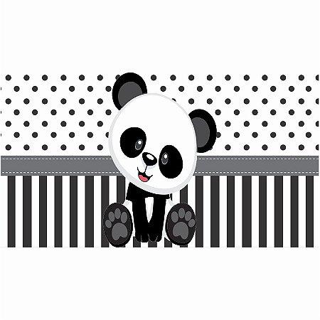 Painel em Lona Panda Baby 01