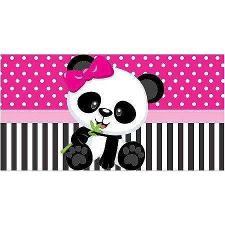 Painel em Lona Panda Menina 01